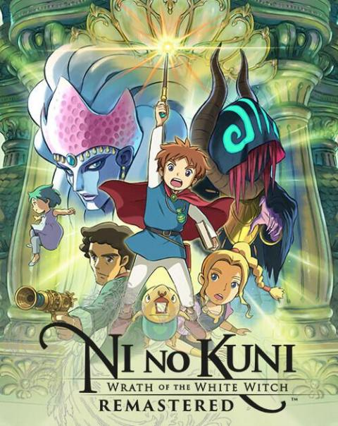 Jaquette Ni no Kuni : Wrath of the White Witch Remastered