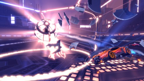 Rocket League annonce son mode Dropshot