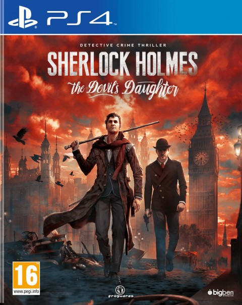 Jaquette Sherlock Holmes : The Devil's Daughter