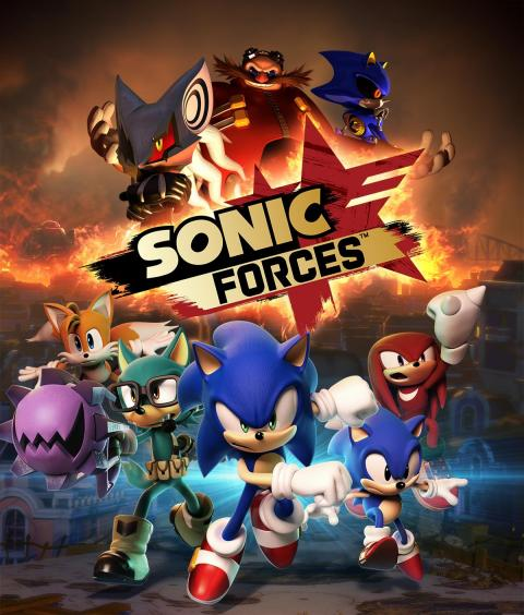 Jaquette Sonic Forces