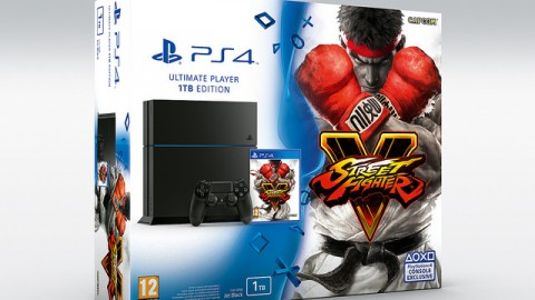 Street Fighter V : un pack PlayStation 4 pour l'Europe