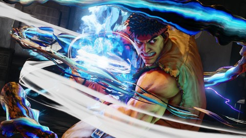 Test Street Fighter V
