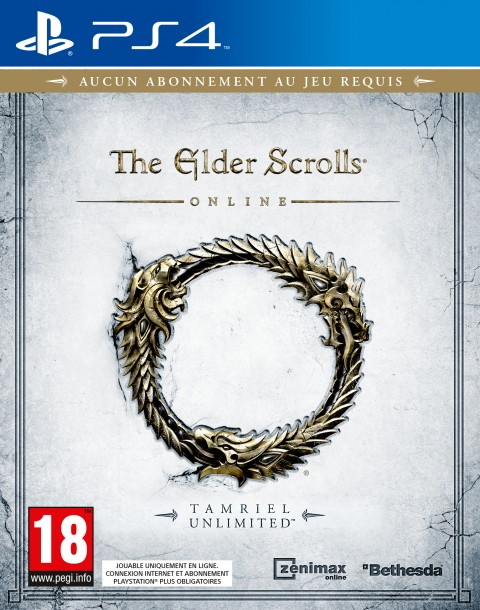 Jaquette The Elder Scrolls Online: Tamriel Unlimited