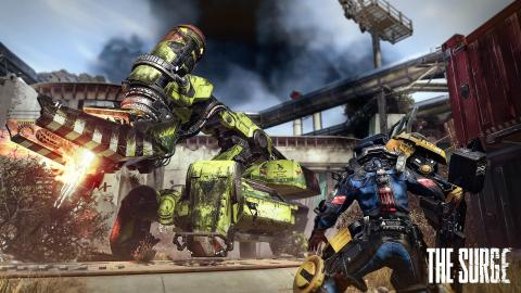 The Surge lance son extension A Walk in the Park