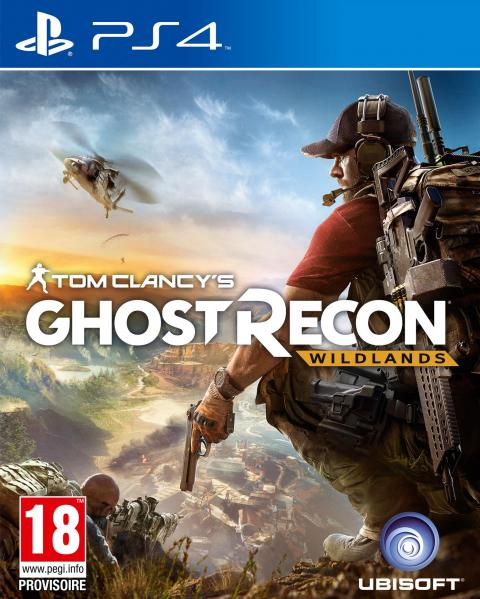 Jaquette Tom Clancy's Ghost Recon : Wildlands