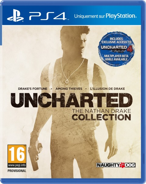 Jaquette Uncharted : The Nathan Drake Collection