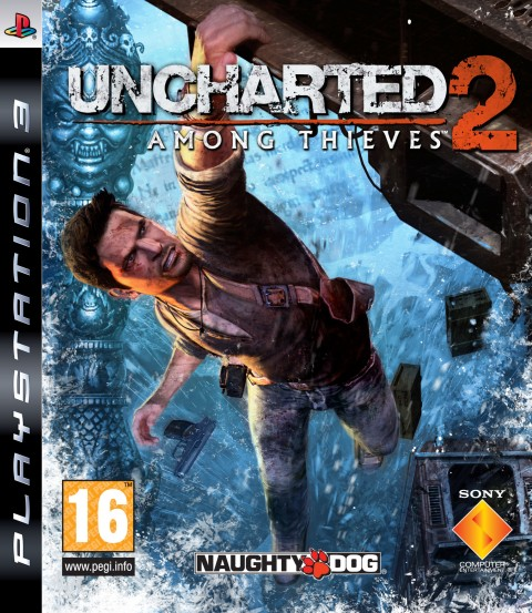 Jaquette Uncharted 2 : Among Thieves
