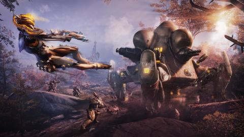 Warframe accueille le remaster de Plains of Eidolon sur consoles