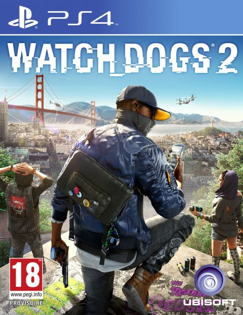 Jaquette Watch_Dogs 2