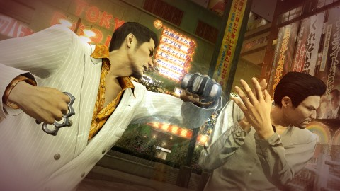 Yakuza 0 vous fait visiter Tokyo by night