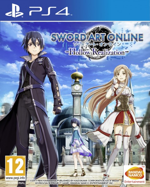 Jaquette Sword Art Online : Hollow Realization