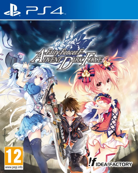 Jaquette Fairy Fencer F : Advent Dark Force