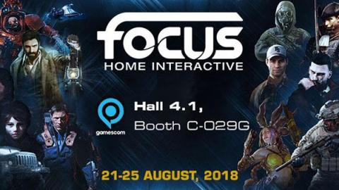 Focus Home Interactive : le line up de la Gamescom 2018
