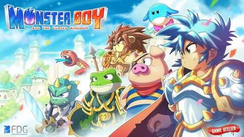 Monster Boy and the Cursed Kingdom est Gold