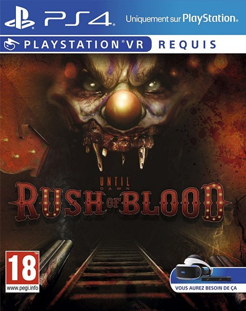 Jaquette Until Dawn : Rush of Blood