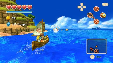 Oceanhorn - Monster of Uncharted Seas est lancé sur PSVita
