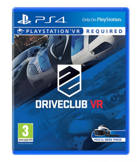 Jaquette DriveClub VR