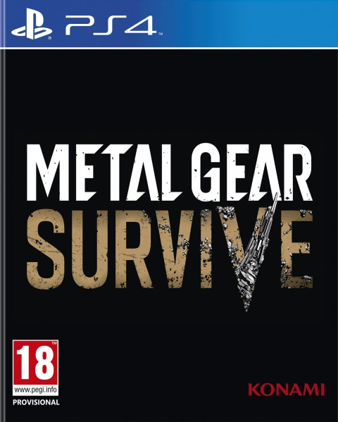 Jaquette Metal Gear Survive