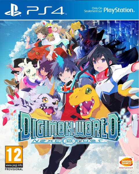 Jaquette Digimon World : Next Order