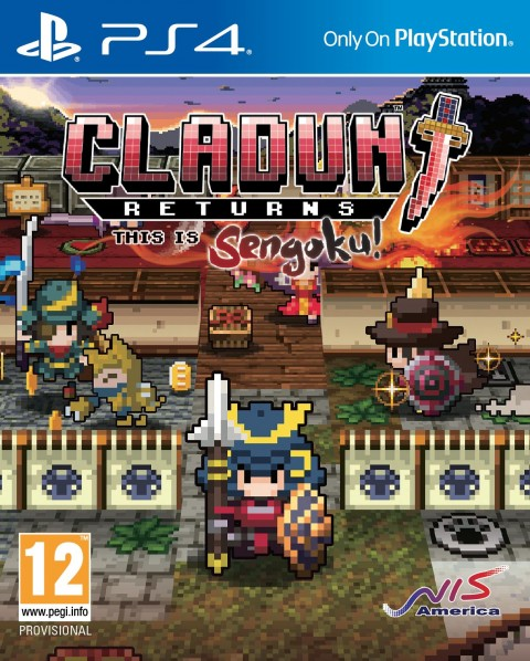 Jaquette Cladun Returns : This is Sengoku !