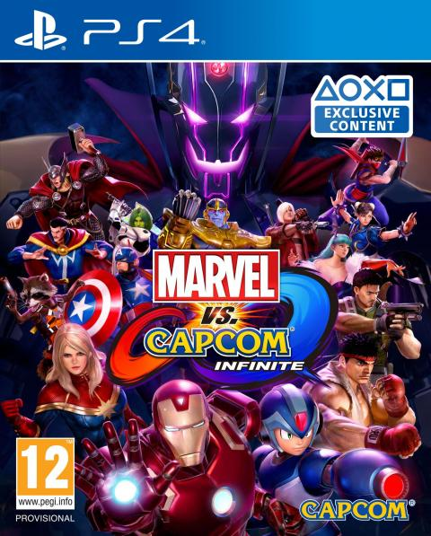 Jaquette Marvel vs. Capcom : Infinite
