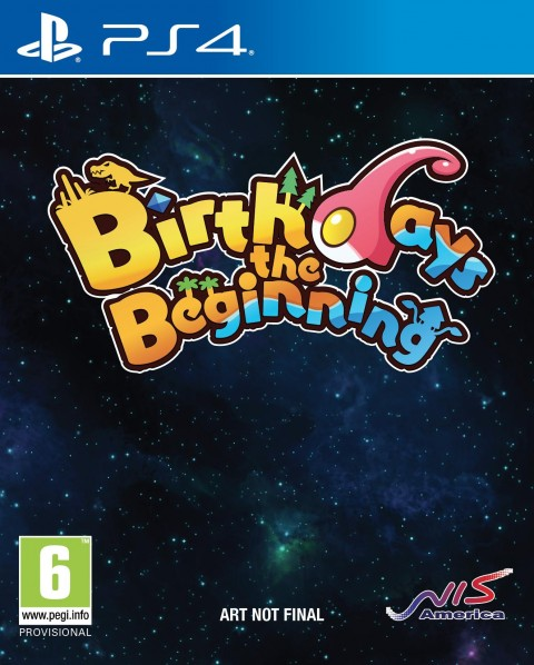 Jaquette Birthdays the Beginning