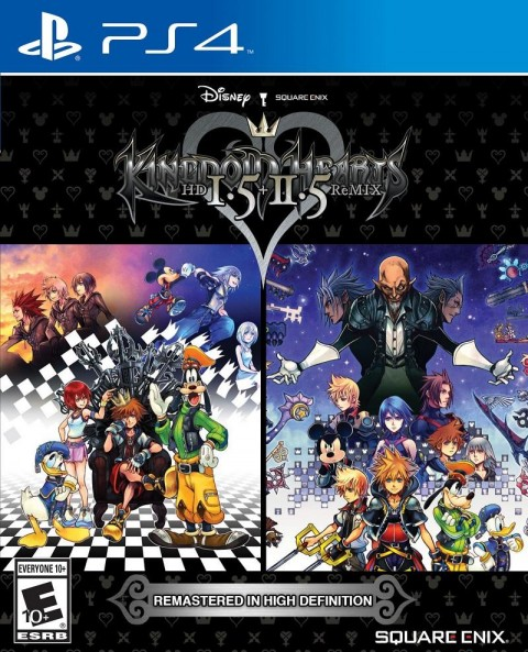 Jaquette Kingdom Hearts HD 1.5 + 2.5 ReMIX