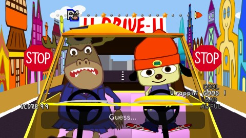 Test PaRappa The Rapper Remastered
