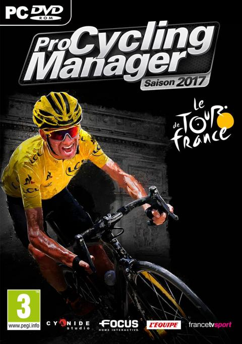 Jaquette Pro Cycling Manager Saison 2017 - Le Tour de France