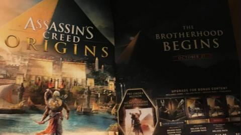 Assassin's Creed Origins : date de sortie leak !