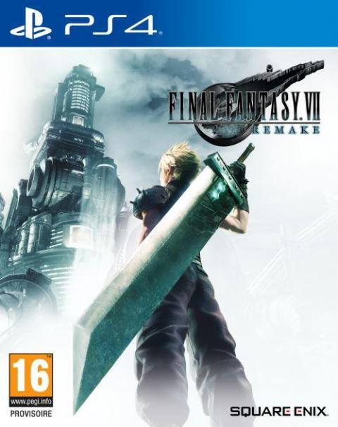 Jaquette Final Fantasy VII Remake