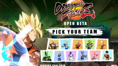 Dragon Ball FighterZ : on connait le casting de la bêta