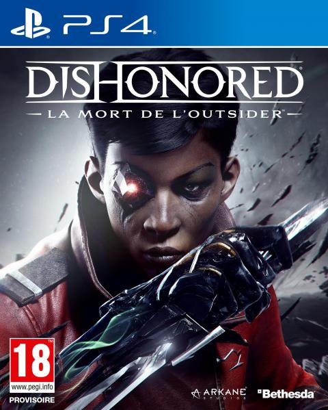 Jaquette Dishonored : Death of the Outsider