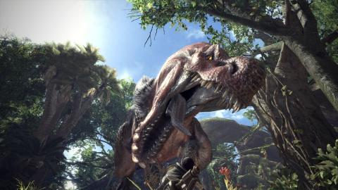 Monster Hunter : World - Aloy en renfort sur PS4