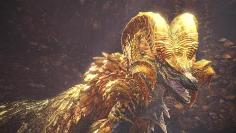 Monster Hunter : World présente le Kulve Taroth