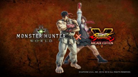 Monster Hunter : World accueille Street Fighter