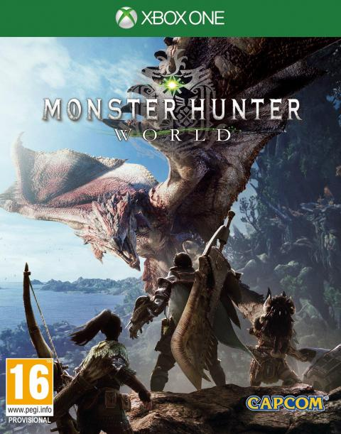 Jaquette Monster Hunter : World