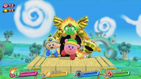 Kirby s'invite sur Nintendo Switch