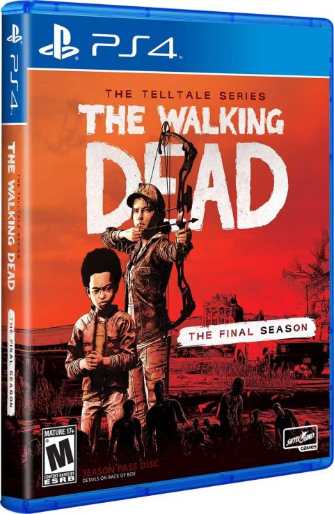 Jaquette The Walking Dead : The Final Season
