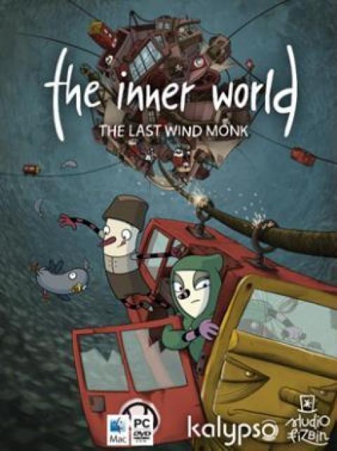 Jaquette The Inner World The Last Monk Wind