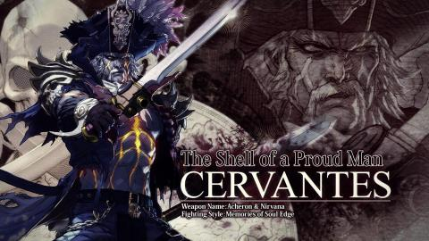 Cervantès de Léon, le pirate maudit, part à l'abordage de Soul Calibur VI