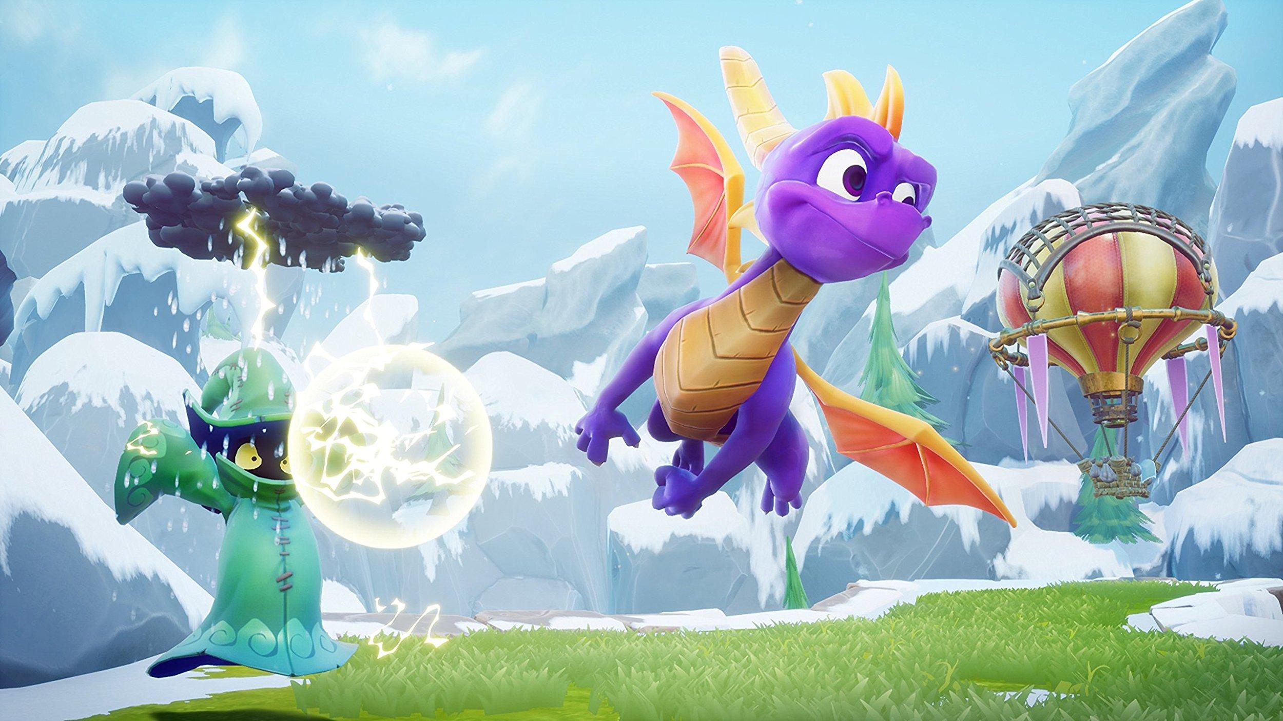 Le remake de la trilogie Spyro est légèrement repoussé