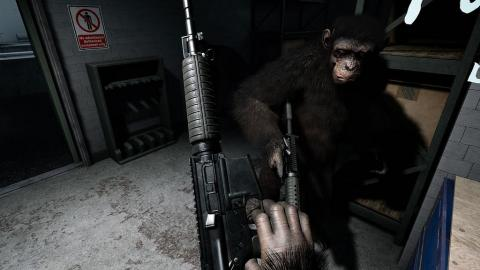 Crisis on the Planet of the Apes : faîtes le singe en VR