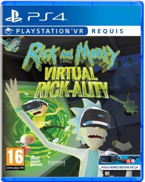 Jaquette Rick And Morty Virtual Rick-ality VR