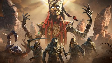 Test Assassin's Creed Origins - The Curse of the Pharaohs