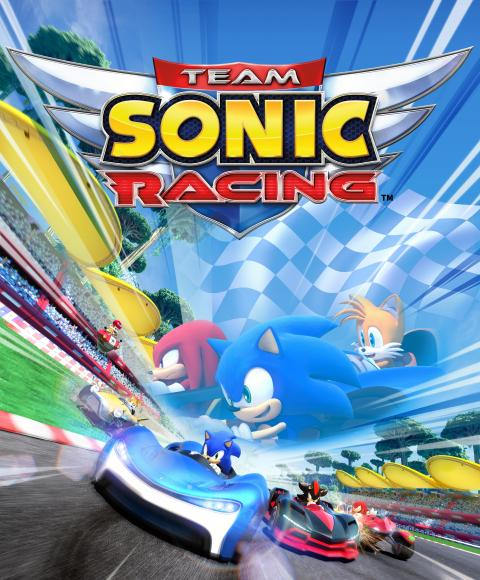 Jaquette Team Sonic Racing
