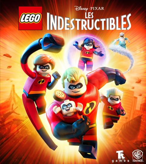 Jaquette LEGO Les Indestructibles