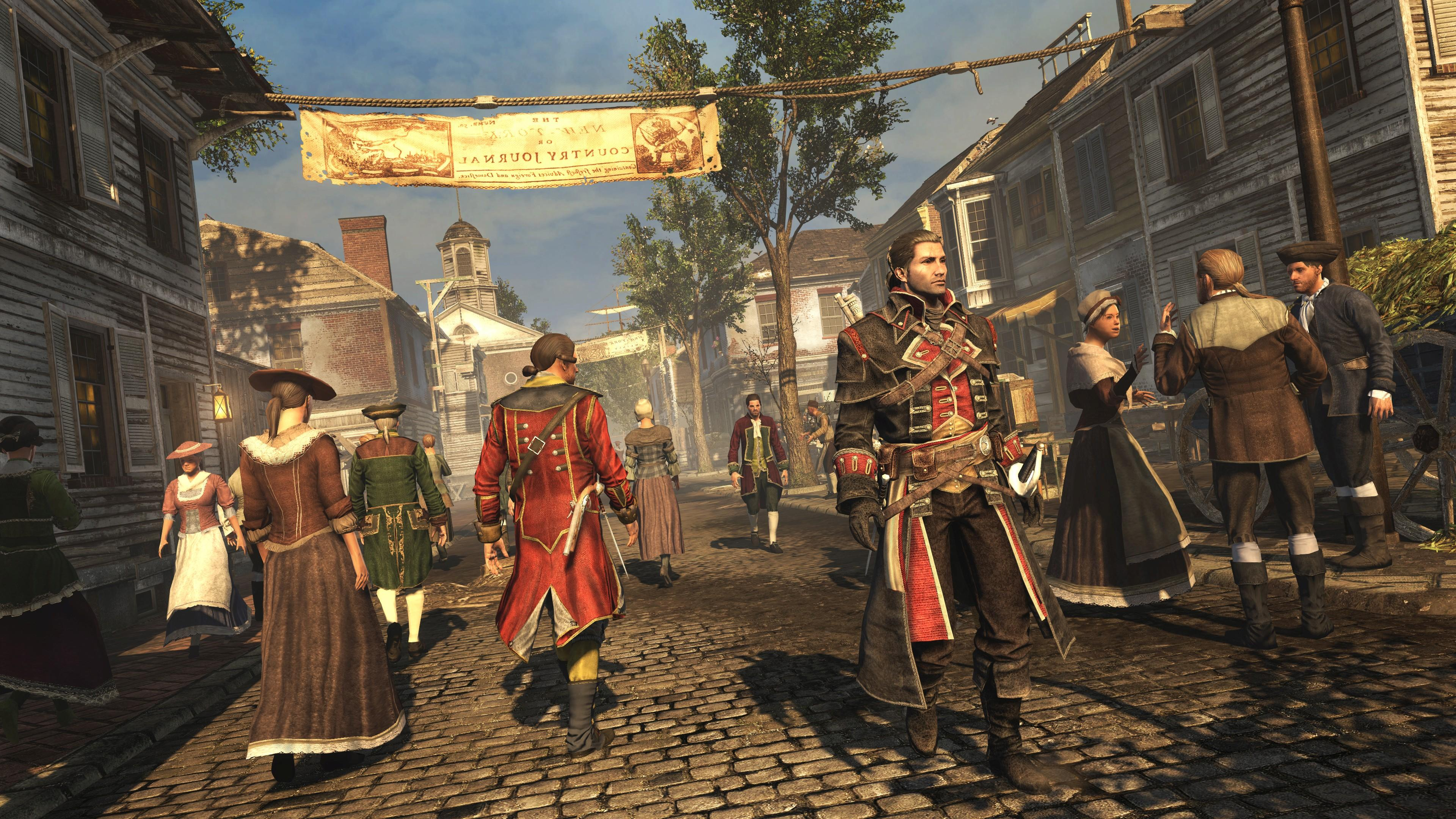 Assassin's Creed Rogue Remastered s'offre un trailer de lancement