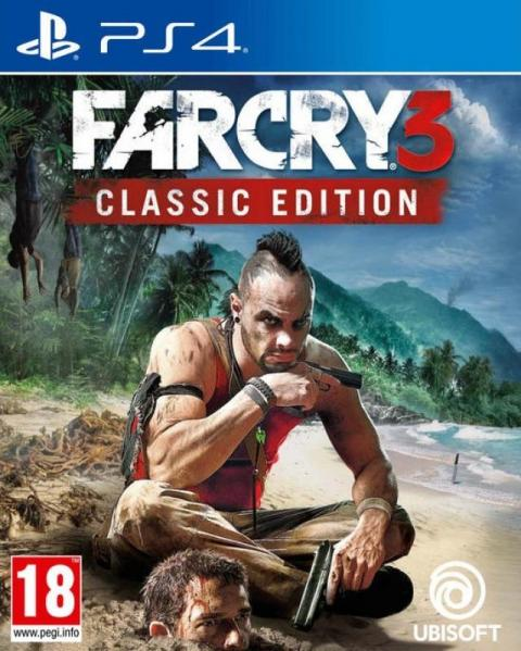 Jaquette Far Cry 3 Classic Edition