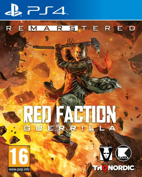 Jaquette Red Faction : Guerrilla Re-Mars-tered